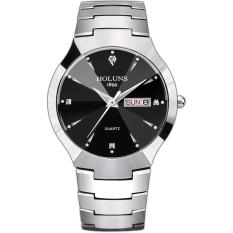 Oxoqo Genuine HOLUNS Thin Fashion Watches Tungsten Steel Waterproof Male Watch Men's Fashion Trends Business Forms Quartz Watch Movement