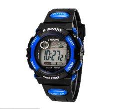 Oxoqo SYNOKE Unisex Student Fashion Digital Wristband Watches (Blue)