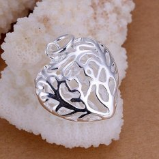 P010 Hot Sale Nickel Lead Free Silver Plated Pendant For Gift (Intl)