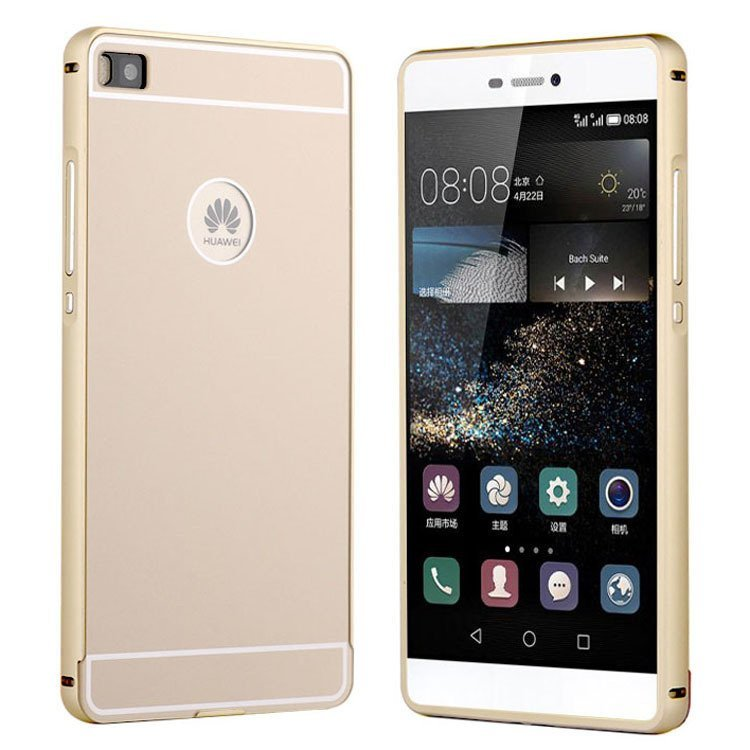 P8 Lite Slim Aluminum Case for Huawei Ascend P8 5.2inch (Gold) (Intl)