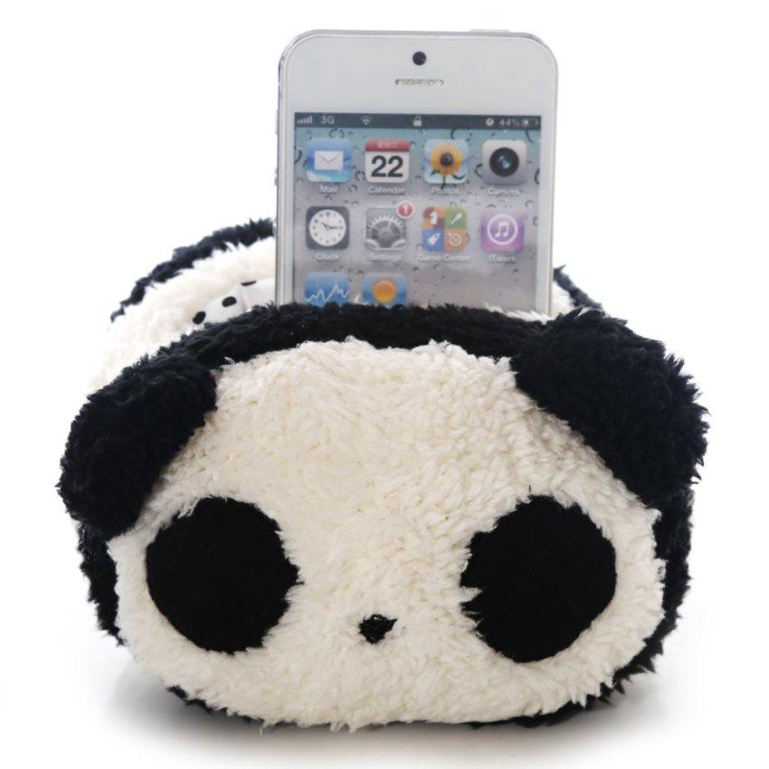 Panda plush mobile phone holder (Intl)