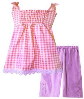Papeterie Baju Setelan Anak Pink Lazada Indonesia
