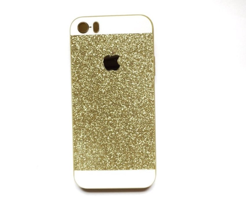 Paroparoshop Glitter Softcase For Iphone 4/4s  - Gold