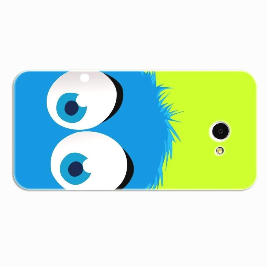 PC Plastic Case for HTC butterfly S green and blue