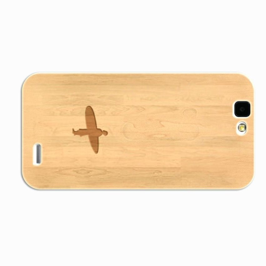 PC Plastic Case for Huawei G7 Burly Wood