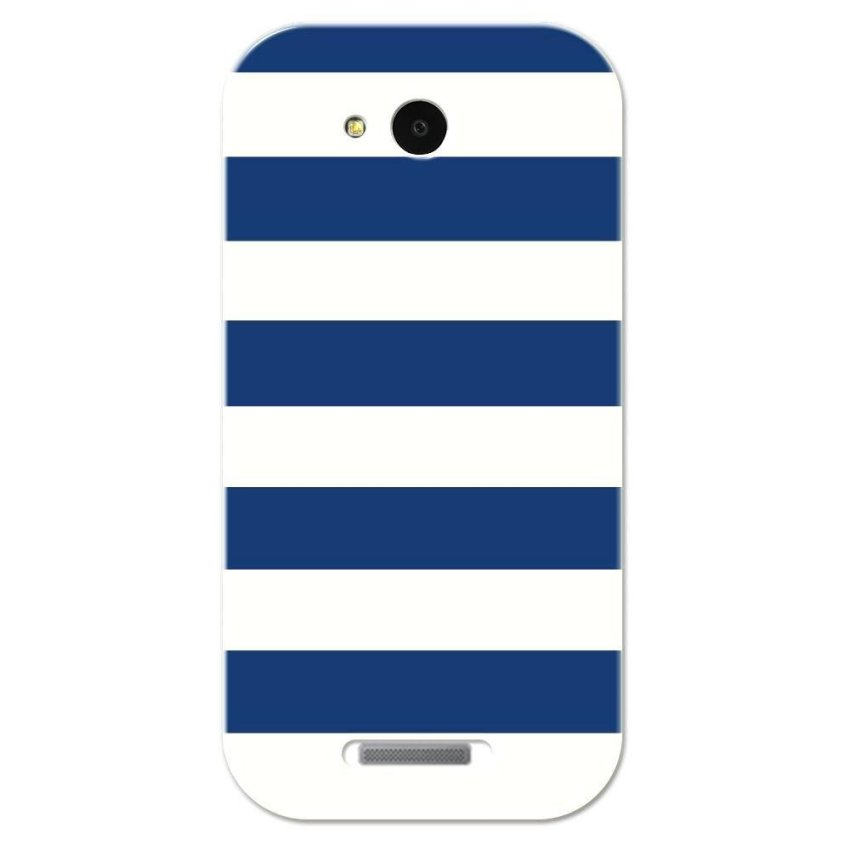 PC Plastic Case for Lenovo A706 navy and white