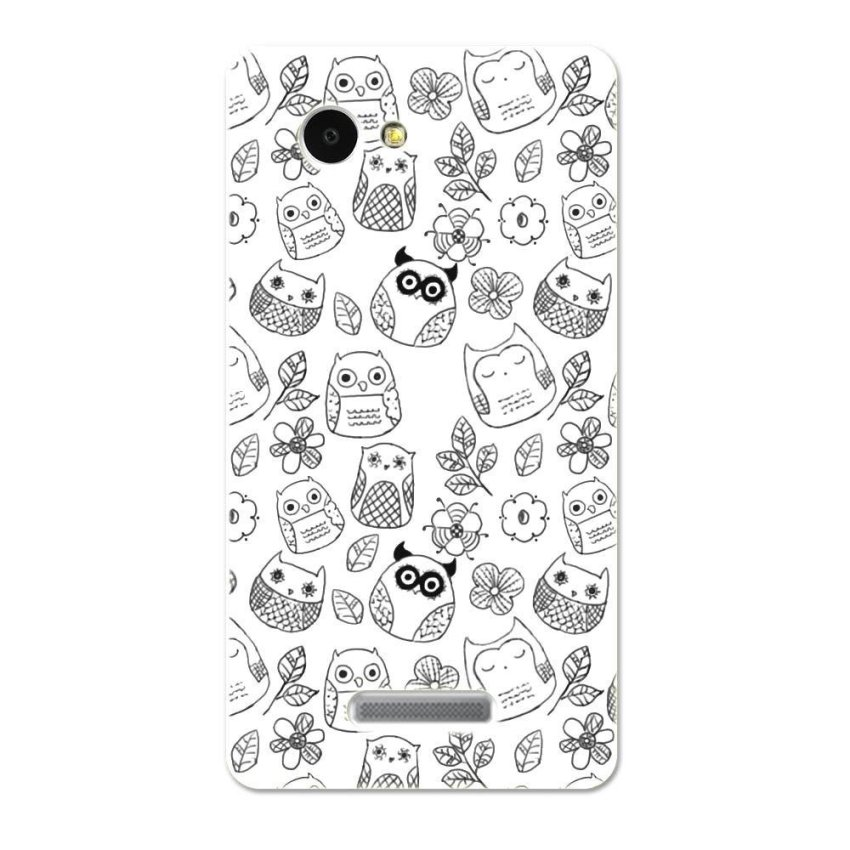 PC Plastic Case for Lenovo A880 A889 black-and-white