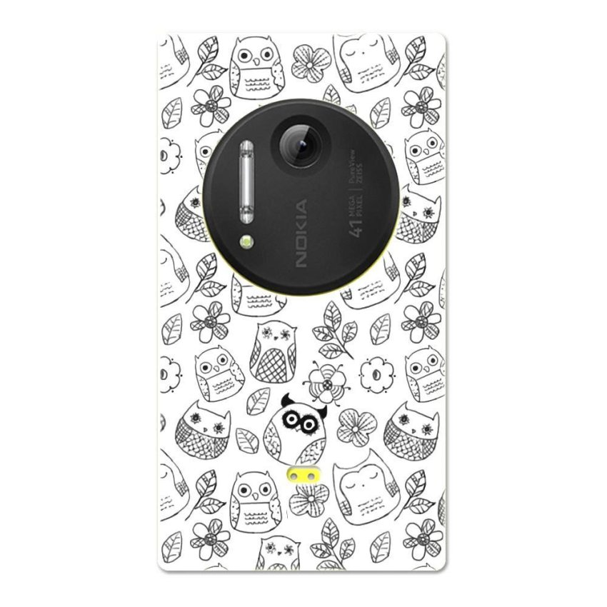 PC Plastic Case for Nokia Lumia 1020 black-and-white