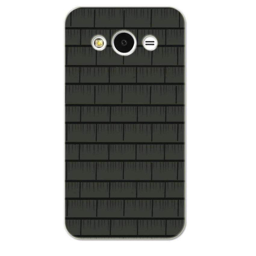 PC Plastic Case for Samsung galaxy Core 2 grey