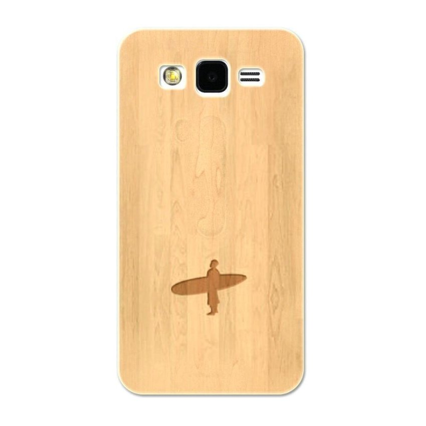 PC Plastic Case for Samsung galaxy Grand 2 Burly Wood