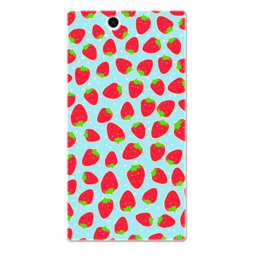 PC Plastic Case for Sony Xperia Z Ultra red and blue