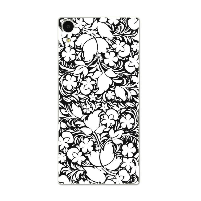 PC Plastic Case for Sony Xperia Z1 L39h black-and-white