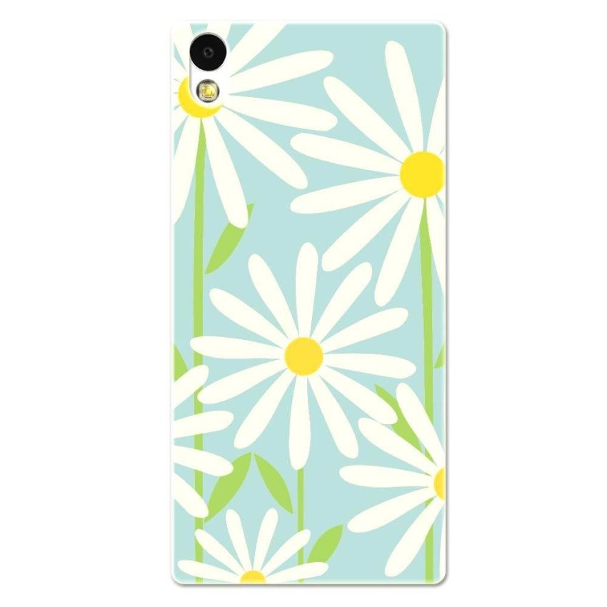 PC Plastic Case for Sony Xperia Z2 blue and white