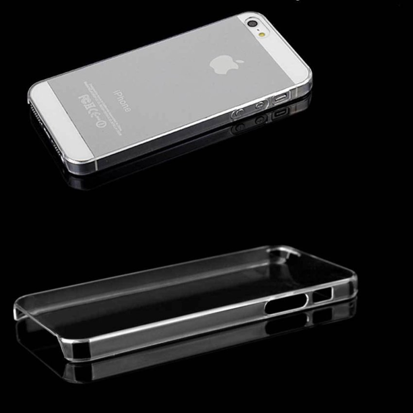 PC Ultra Thin Crystal Hard Back Case for iPhone 5 5s 5G (Clear) (Intl)