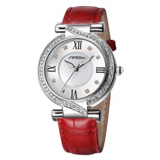 Perfect Sinobi Brand New 2016 Authentic High Fashion Personality Wild Ladies Watches Belt Table - Intl