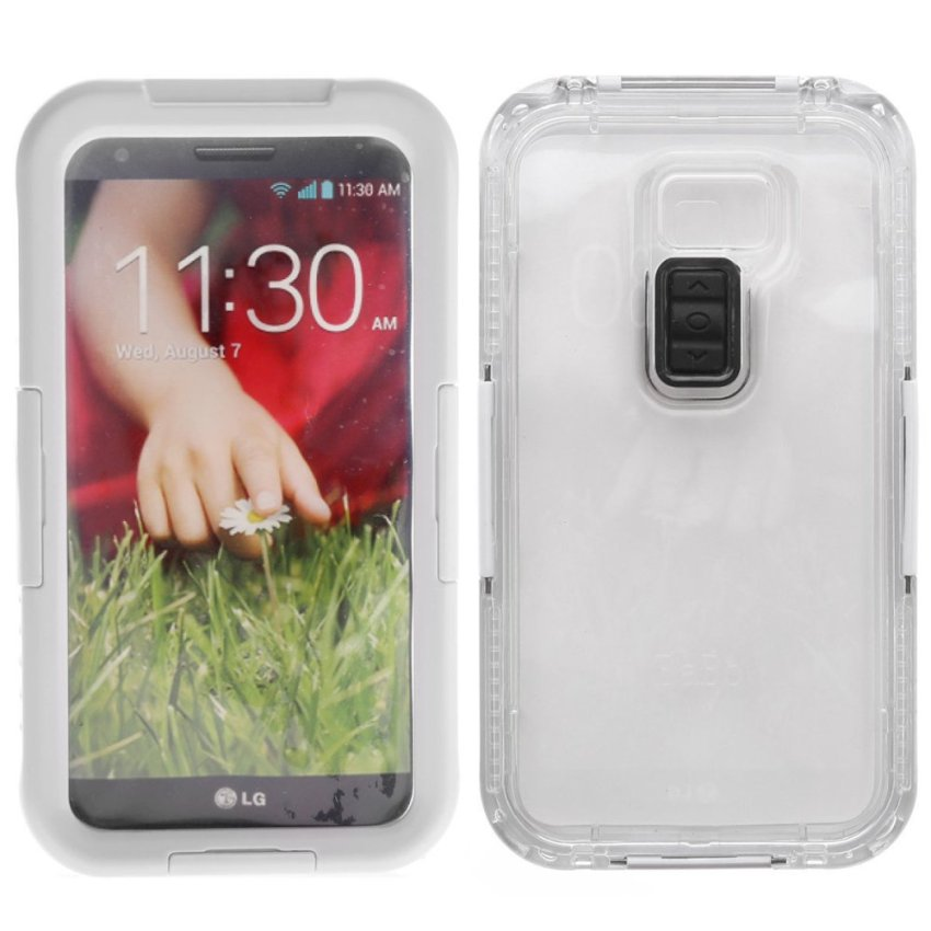 Phone Case Waterproof Case For LG G2 White