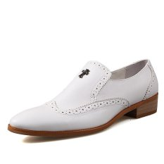 PINSV Synthethic Leather Men Formal Shoes Business Shoes ϼ
