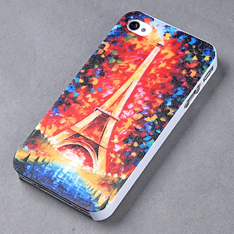 Plastic Back Case for Apple iPhone 4/4S (Multicolor) (Intl)
