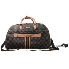 Polo Classic 086-5 Travel Bag Trolley -Coffee