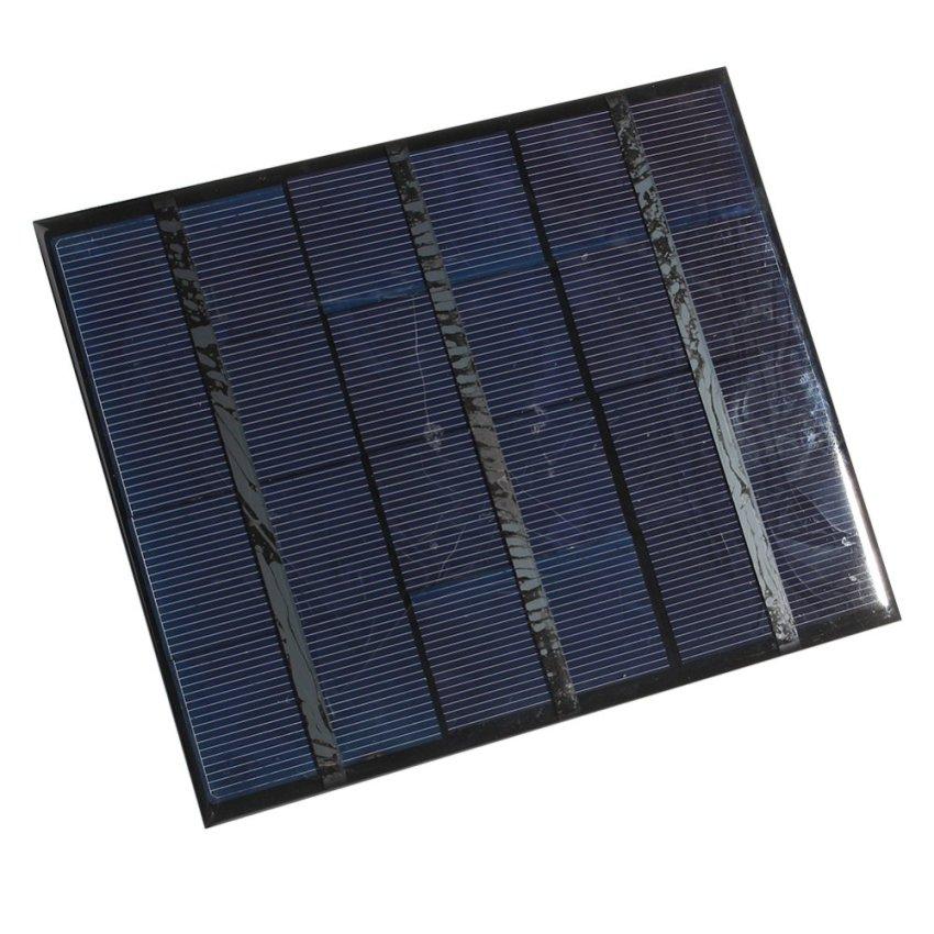 Polycrystalline Solar Panels 6v3.5w (Black) (Intl)