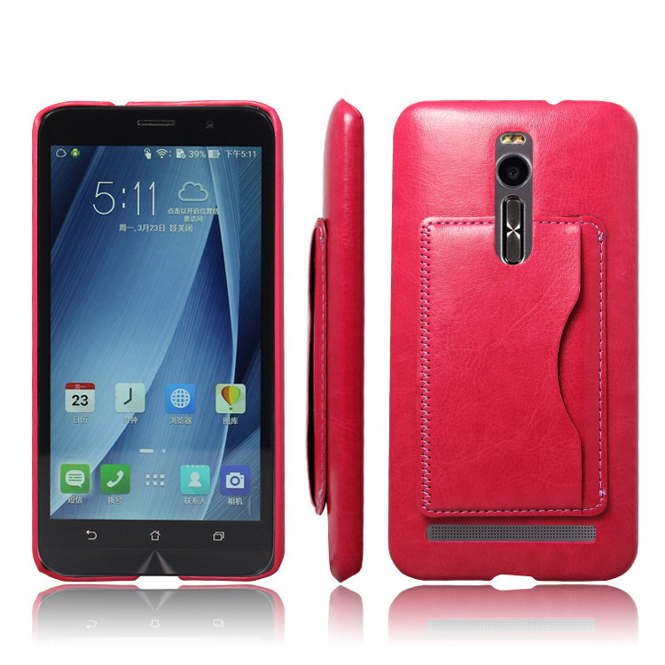 Popsky Phone Case for ASUS ZenFone 2 ZE550ml / Ze551ml (Red)