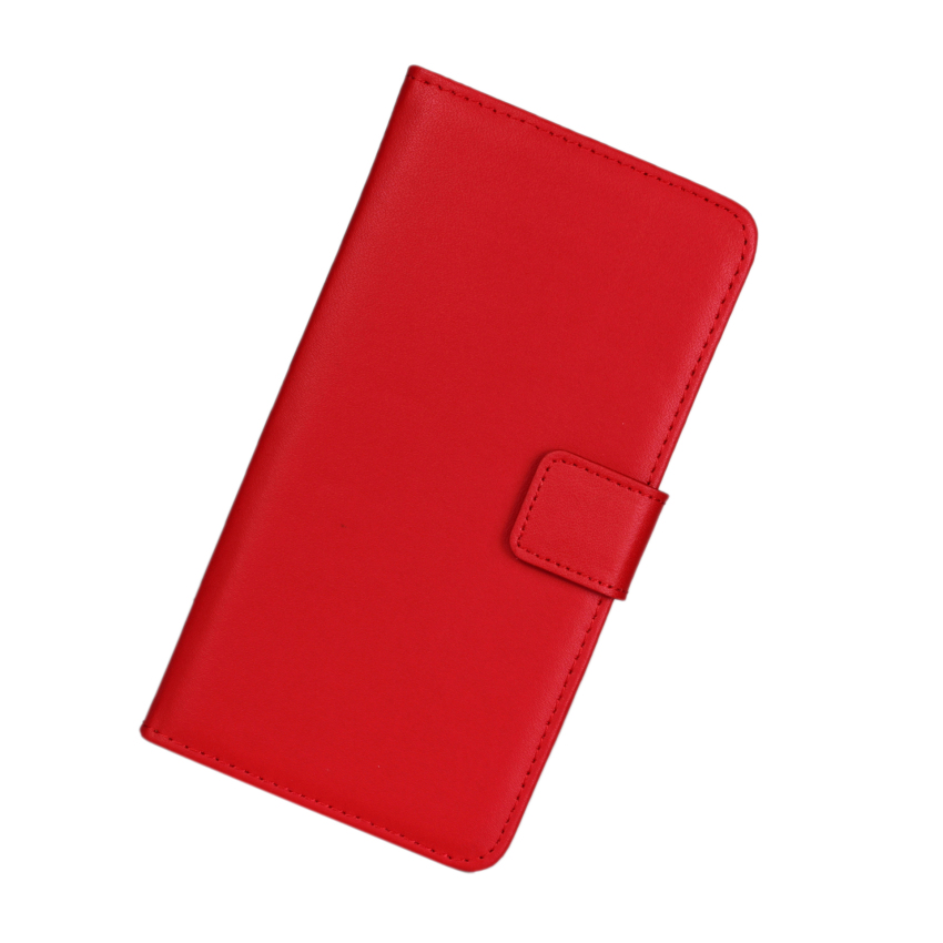 PopSky Wallet Case civer for Sony Xperia Z3(Red)