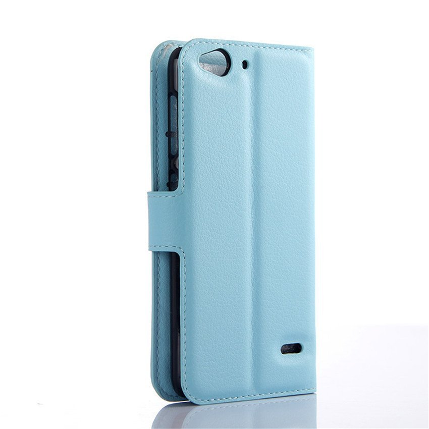 PopSky Wallet Case for ZTE BLADE S6 (Blue)