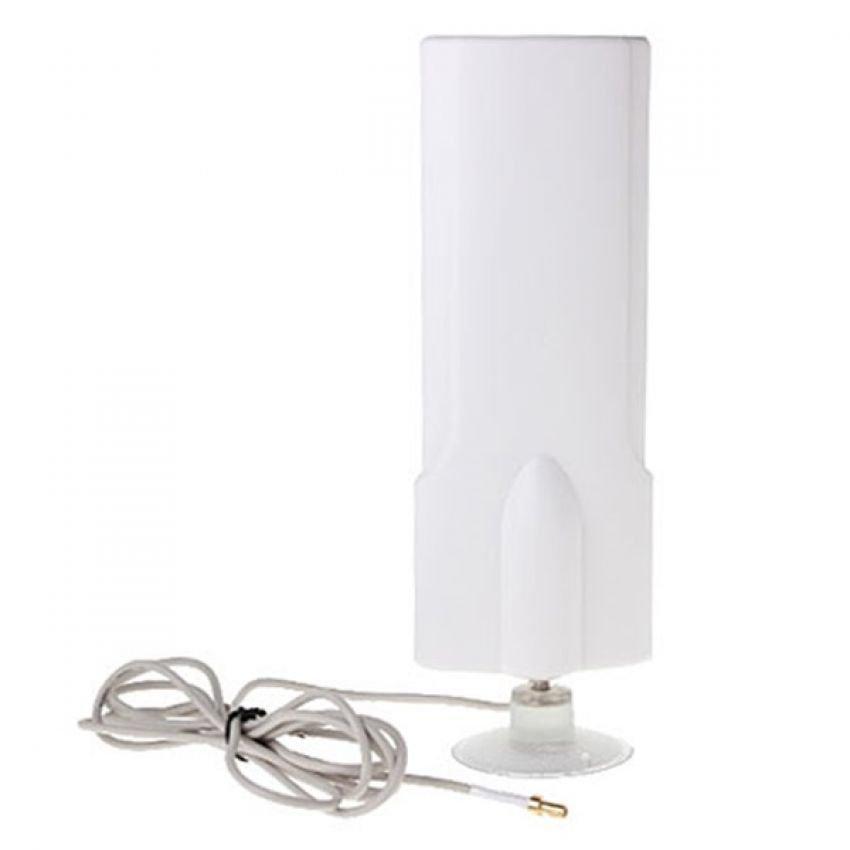 Portable Antena 25dBi Modem Sierra C305 High Gain 3G 4G LTE FDD TDD W-Max 425 Maximal - Putih