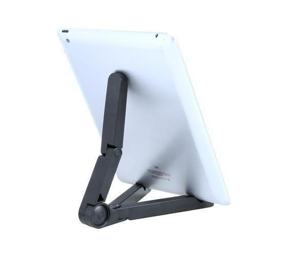 Portable Plastic Fold-up Stand for Apple iPad, Galaxy Tab, Kindle Fire and 7