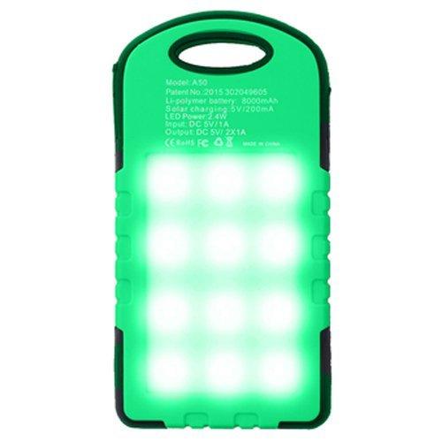PowerBank Solar Cell Tenaga Surya Panel Emergency LED Lamp 99000 mAh
