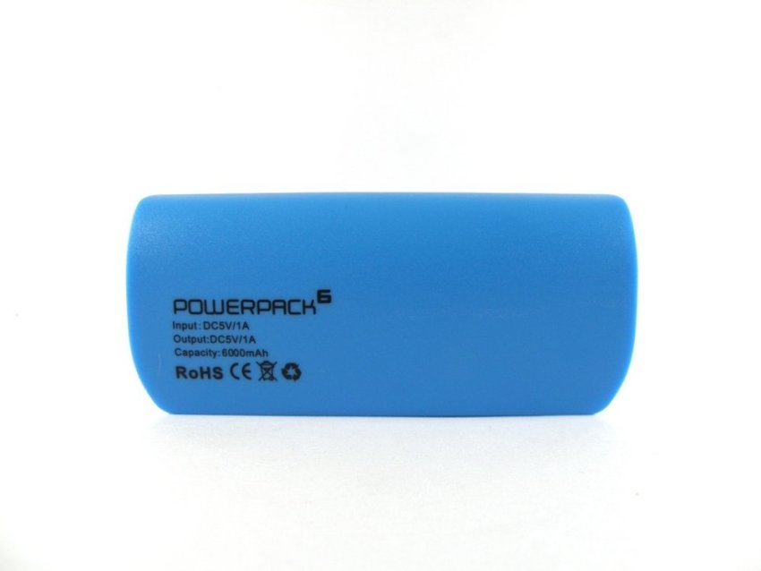 PowerPack Power Bank 6000 MAH - Biru