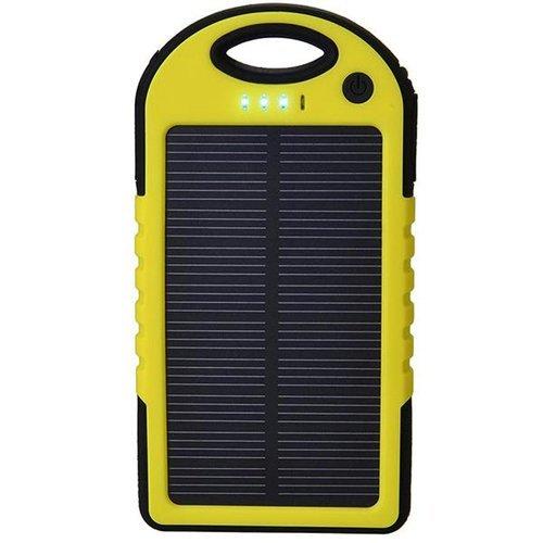 Premium Powerbank Solar Charger 99000mah  - Kuning