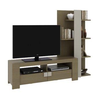 Pro design panama rak tv multistorage home oak taupe for Professional home design 7 0