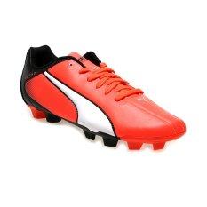 Puma Adreno FG Sepatu Bola - Lava-Putih-Hitam