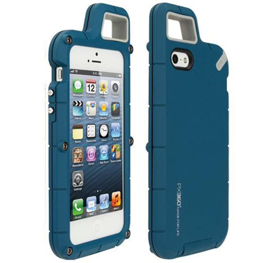 Puregear PX360 Case Outdoor Full Protection for Iphone 4 4S -  Biru
