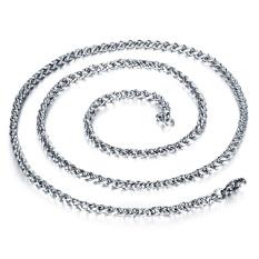 Queen Korea 316L Titanium Steel Women / Men / Unisex Necklace Jewelry Wholesale (Silver) &#8211.5 Mm X 650 Mm