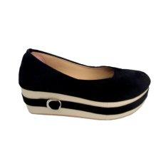 Queen Sepatu Platform SB40 - Hitam