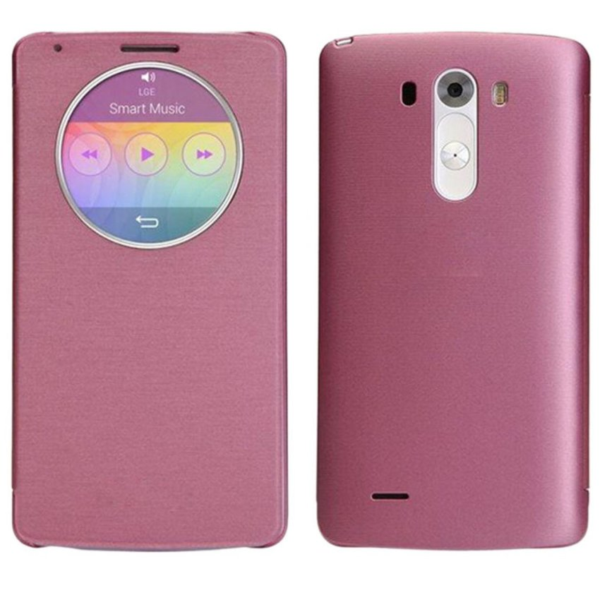Quick Circle Case Cover With Qi Wireless Charging+Nfc For LG G3 D855 D850 Pink
