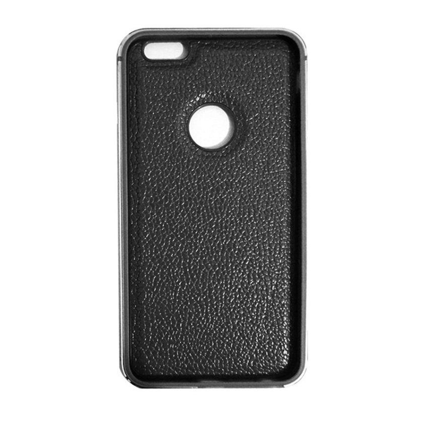 QY Case Leather Case untuk iPhone 6 - Hitam
