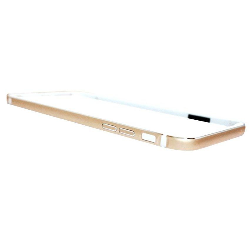 QY Case Rubber Bumper iPhone 6 - Gold
