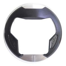 RajaMotor Aksesoris Motor Tutup Tanki CNC Kombinasi Yamaha NMax- Silver/ Hitam