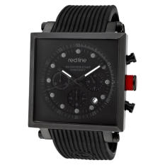 Red Line Men's RL-50036-BLK Compressor 2 Chronograph Black Dial Black Silicone Watch (Intl)