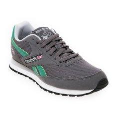 Reebok GL 1200 SYN Sepatu Lari Pria - Ash Grey-Basil-Basil Green