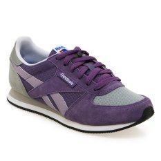Reebok Royal Classic Jogger Sepatu Lari Wanita - Lavender Grey-Putih-Steel