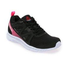 Reebok Run Supreme 2.0 Sepatu Lari Wanita - Hitam-Pink