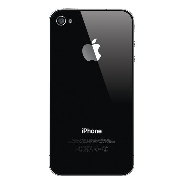 Refurbished Apple iPhone 4 - 16GB - Hitam - Grade A