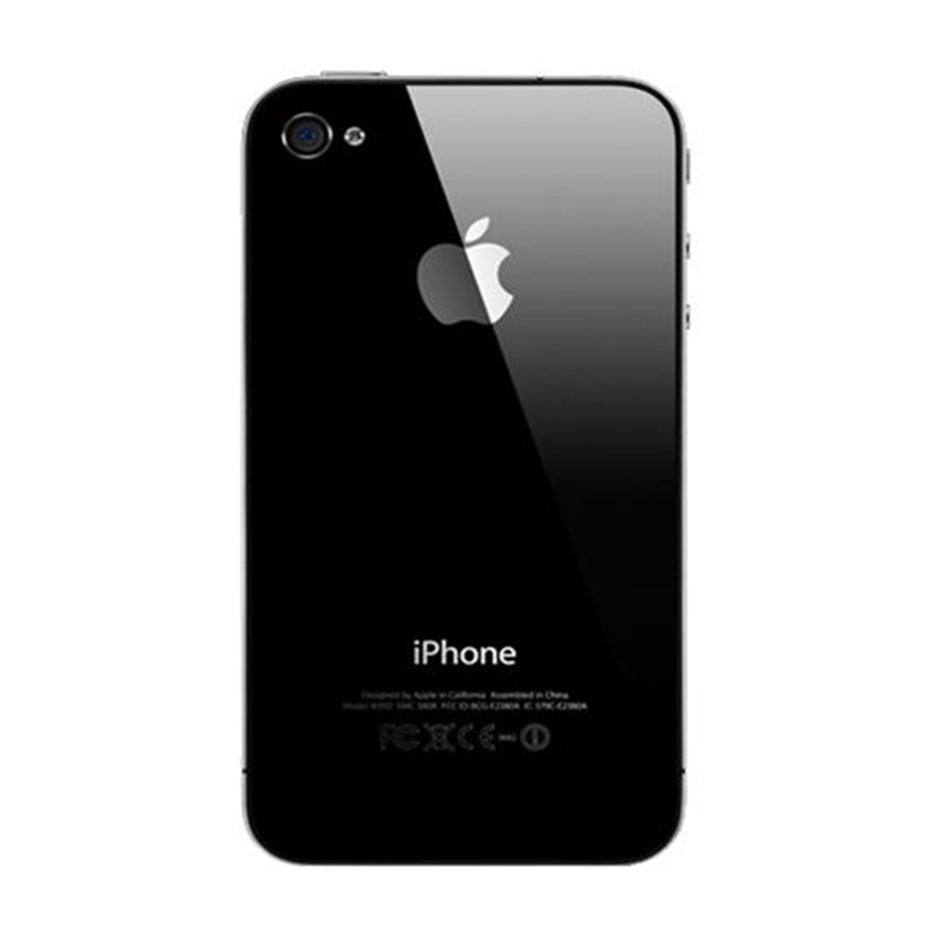 Refurbished Apple iPhone 4 - 32 GB - Hitam - Grade A