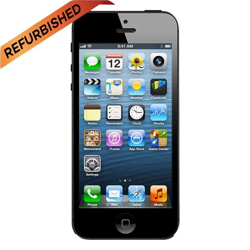 Refurbished Apple iPhone 5 - 32GB - Hitam - Grade A