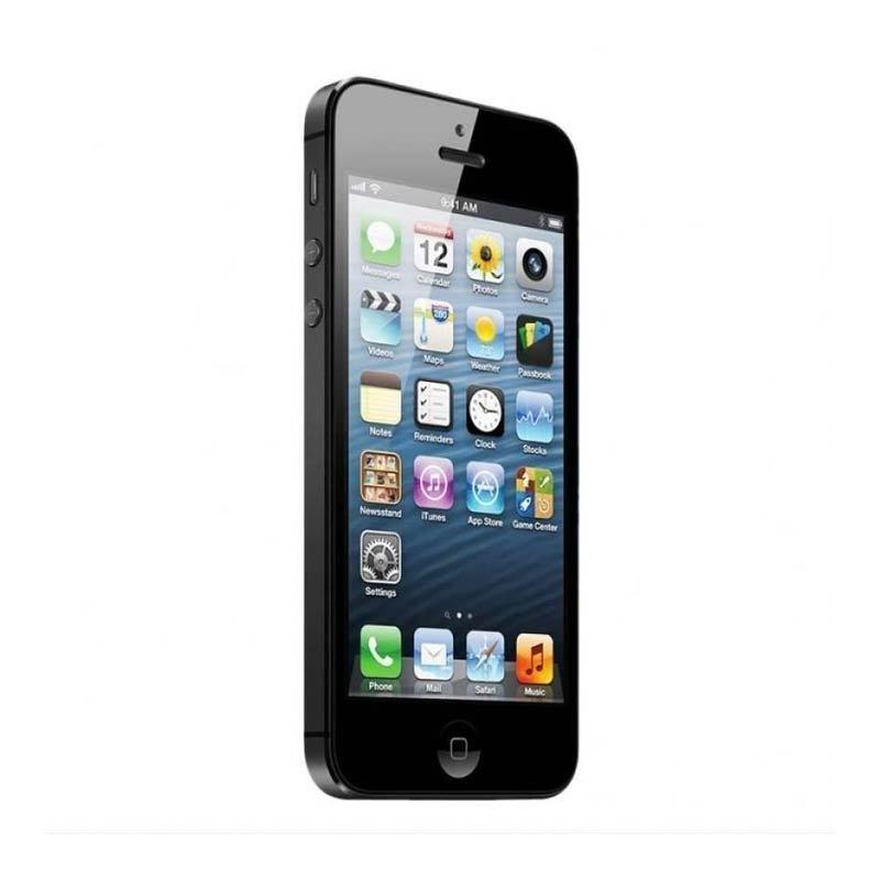 Refurbished Apple iPhone 5 - 64 GB - Hitam