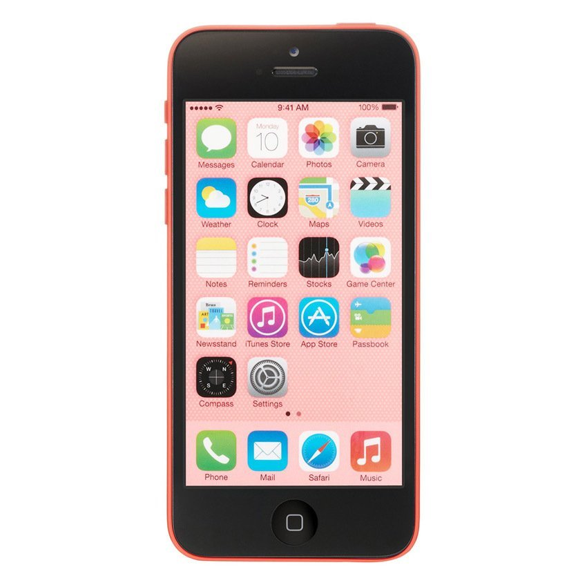 Refurbished Apple iPhone 5C - 32 GB - Pink - Grade A + Gratis Tempered Glass